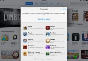 iWork-Apps kostenlos unter iOS 7?