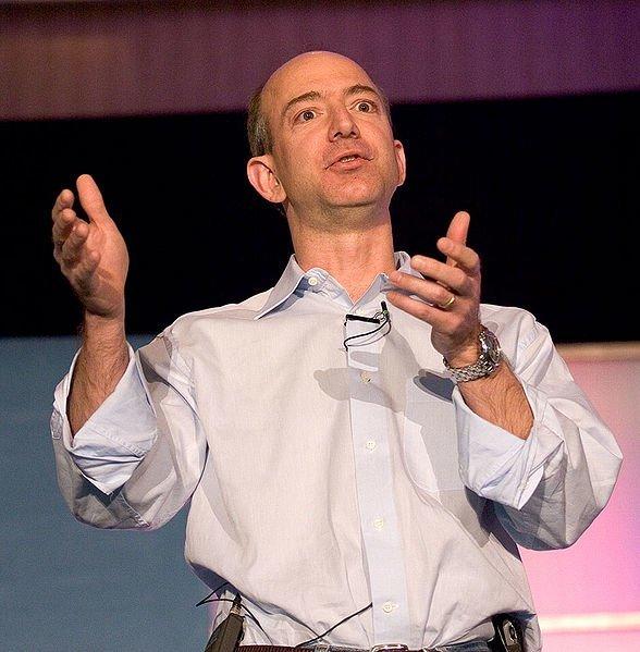 Jeff Bezos, Foto: James Duncan Davidson