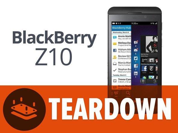 BlackBerry Z10 Teardown: iFixit bescheinigt dem Smartphone gute Reparierbarkeit