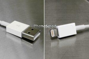 Lightning Kabel von iPhone5mod