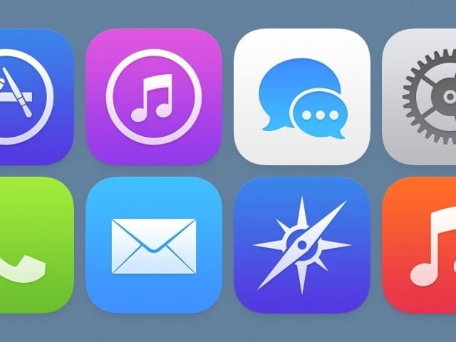 iOS-7-Icons, Bild: Louie Mantia