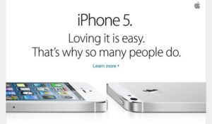 iPhone 5 Werbekampagne