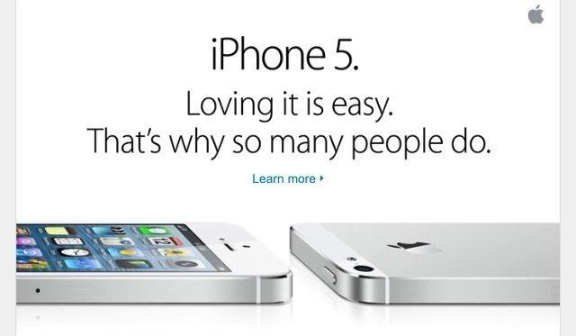 iPhone 5 Werbekampagne