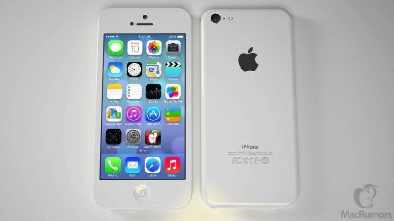 Renderbild eines iPhone 5C. Foto: Macrumors.