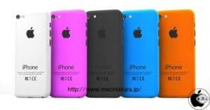 iPhone mini in verschiedenen Farben