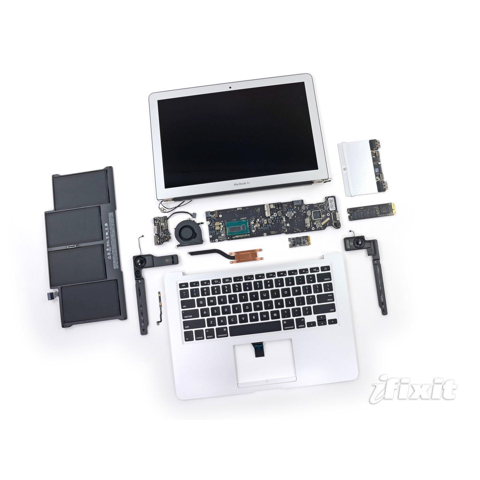 Teardown von neuem MacBook Air 13-Zoll aus 6/2013