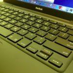 MacBook in Schwarz