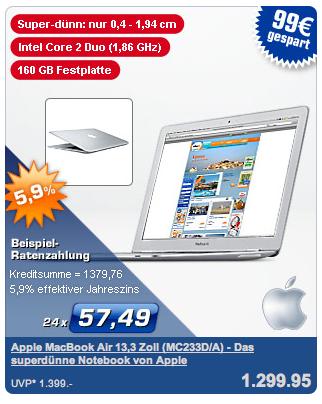 Macbook Air bei PLUS