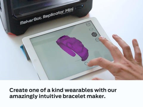 iPad-App für 3D-Drucker MakerBot: Replicator veröffentlicht