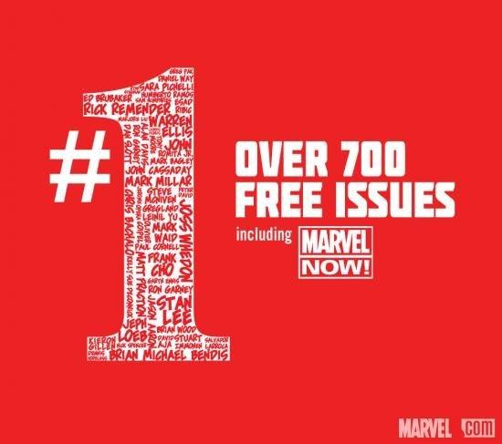 Marvel #1 – 700 Erstausgaben kostenlos