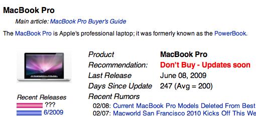 Neue MacBook Pro
