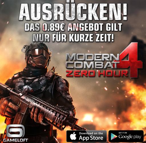 Modern Combat 4 Promo