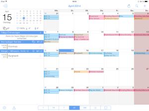 miCal - Kalender-App jetzt auch mit iPad Unterstützung