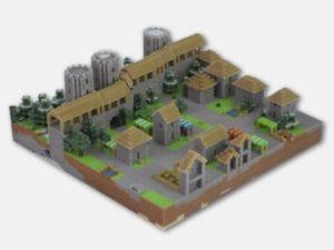 Minecraft-Replika von FigurePrints