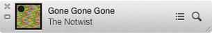 iTunes 11 Miniplayer Titelansicht