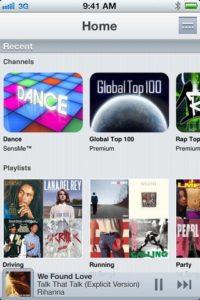 Music Unlimited iPhone-App