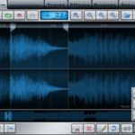 Music Studio am iPad: Wave-Editor