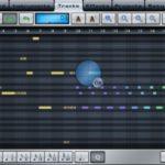 Music Studio am iPad: Pianorolle