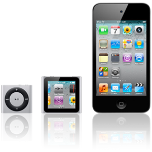 iPod nano und shuffle