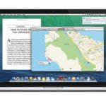 OS X 10.9 mit Apple Maps und iBooks