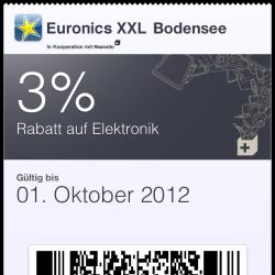 Euronics nutzt Passbook in iOS 6