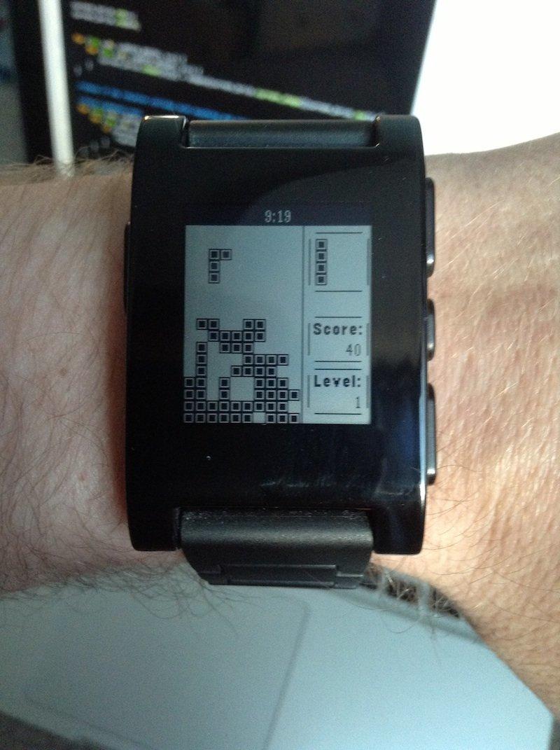 Pebblis: Tetris auf Pebble-Smartwatch