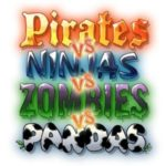 Pirates vs Ninjas vs Zombies vs Pandas