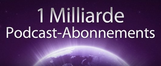 1 Milliarde Podcast-Abonnements