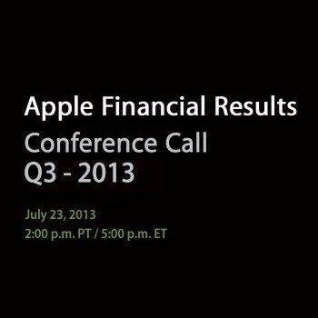 Q3 2013 - Apple Bekanntgabe Quartalszahlen