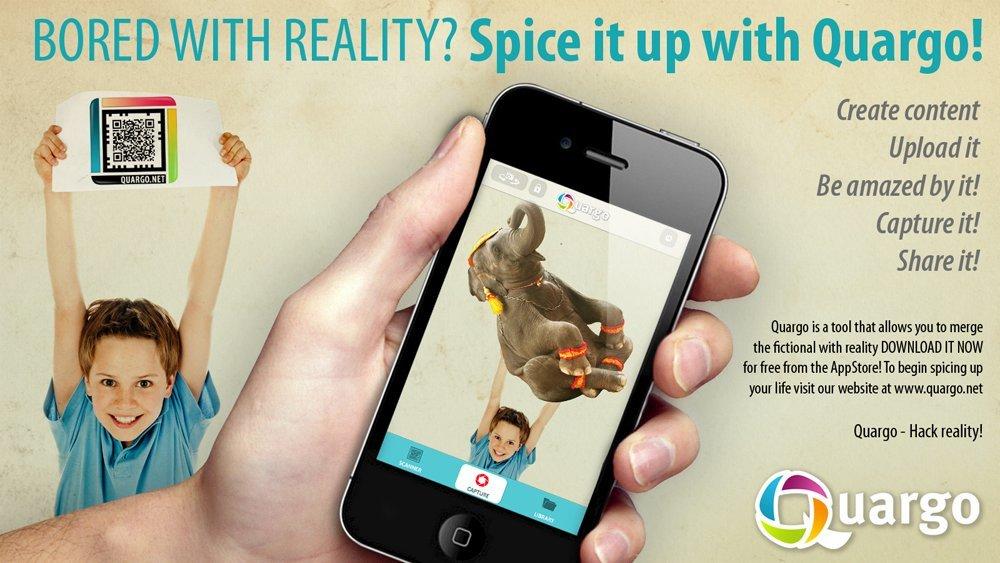 Mit Quargo jetzt Augmented Reality für iPhone und iPad