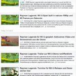 Rayman Legends News Gamesaktuell.de, Screenshot vom 1.1.2013