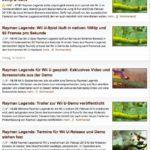Rayman Legends News Videogameszone.de, Screenshot vom 1.1.2013