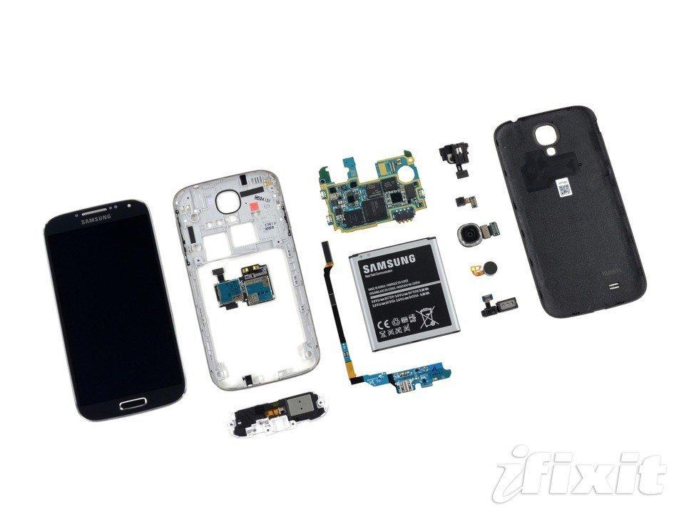 Samsung Galaxy S4 Teardown: Android-Smartphone auseinander genommen