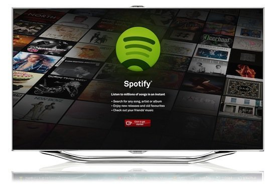 Spotify für Samsung Smart TV