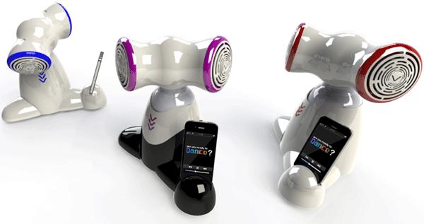 Shimi tanzender iPhone-Roboter