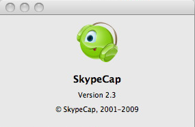 SkypeCap 2.3 - Screenshot