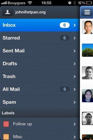 Sparrow: Email-Client jetzt fit für iPhone 5 inklusive Passbook