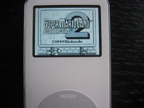 Super Mario Land 2 auf dem iPod