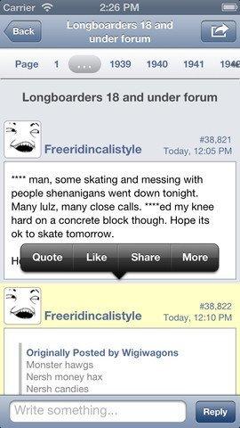 Tapatalk Forum App - Screenshot