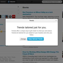 Twitter: Orts- und Follower-basierte Tailored Trends eingeführt