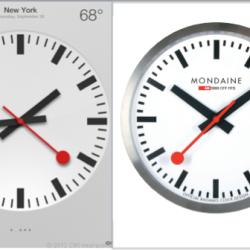 Schweizer Bundesbahn lizenziert Uhrendesign an Apple