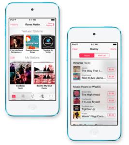 iRadio auf dem iPhone