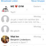 WhatsApp Übersicht