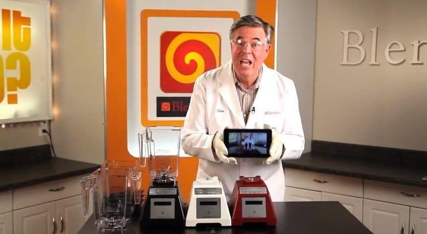 iPad Mini, Nexus 7 und Kindle Fire HD im Mixer, Foto: Blendtec