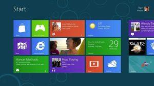 Windows 8 Start-Bildschirm