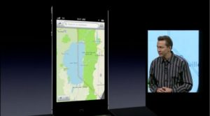 Maps-Applikation in iOS 6