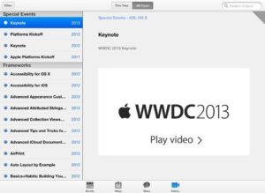 WWDC-App